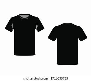 T shirt photo black color