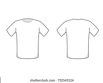 Vector Tshirt Design Template Stock Vector Royalty Free 107226374