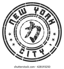 T shirt typography graphic New York. Athletic style NYC. Quote with Kanji character for Power, Force. Fashion print sports wear. Template apparel, card, poster. Chinese character. Vector illustration