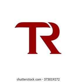 t tr logo