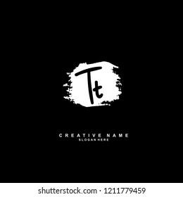 T T TT Initial abstract logo concept vector