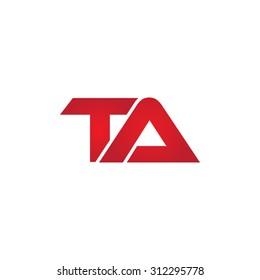 TA company linked letter logo