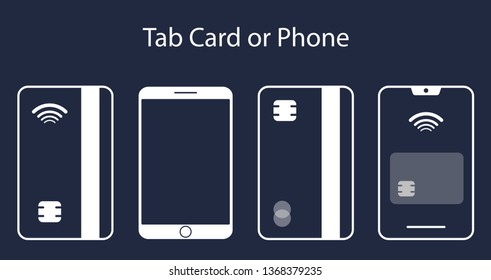 Cellphone+tab Images, Stock Photos & Vectors | Shutterstock