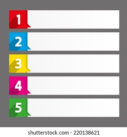 Table Of Contents Use For Template Sequence, Rank, List, Chart