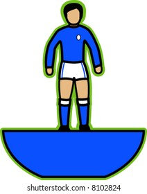 Table Football Player (Blue)
