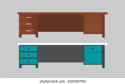 table furniture vector design