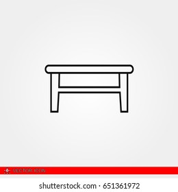 Small Table Symbol Images Stock Photos Vectors Shutterstock