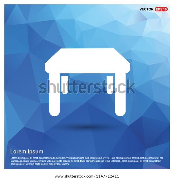 Table Icon - Free vector icon