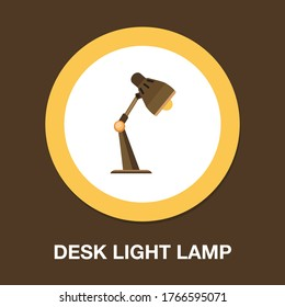 Table lamp glyph icon, light and electricity, desk lamp sign, vector graphics, a solid pattern on a white background, eps 10.