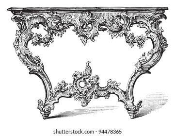 Rococo Furniture Images Stock Photos Vectors Shutterstock