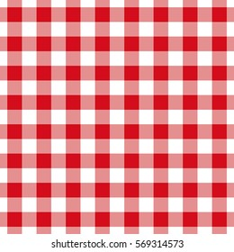 Tablecloth Seamless Square Pattern