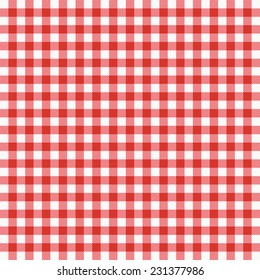 Tablecloth vector background.