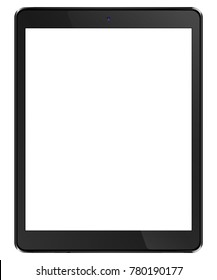 Tablet computer black. To present your application. Vector.