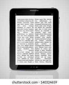 Tablet icon vector illustration