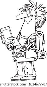 Tablet for map navigation