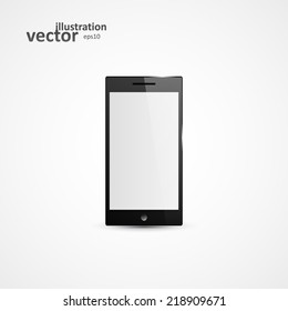 Tablet PC Computer, Vector Illustration eps10, Graphic Concept  For Your Design.