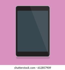 Tablet pc design,clean vector