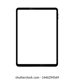 Tablet screen designed to have a thin edge