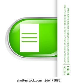 tablet sheet of paper. list