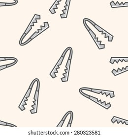 tableware them , cartoon seamless pattern background