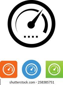 Tachometer / Dashboard gauge icon