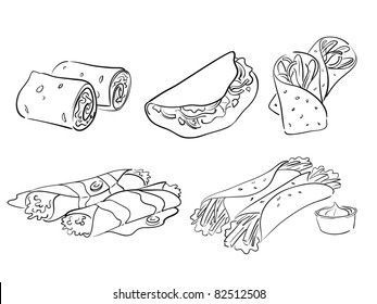 taco and wrap styles