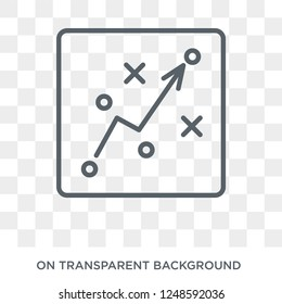 Tactical icon. Trendy flat vector Tactical icon on transparent background from Cryptocurrency economy and finance collection. High quality filled Tactical symbol use for web and mobile