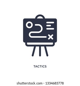 tactics icon. Simple element illustration from productivity concept. tactics editable symbol design on white background. Can be use for web and mobile.