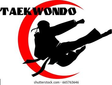 Taekwondo emblem