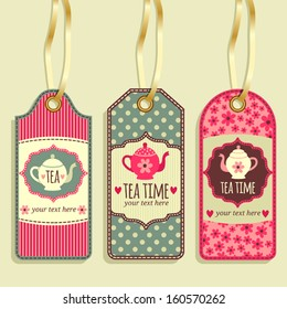 Tag collection. Tea Party