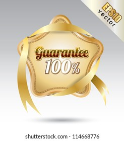 Tag stay quarantee, can use for your business concept, education banner, brochure object.