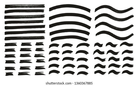 Tagging Marker Medium Lines Curved Lines Wavy Lines High Detail Abstract Vector Background Set 96