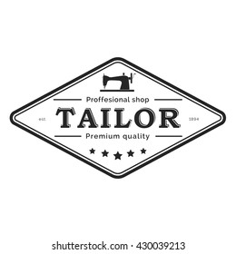 Tailor shop label