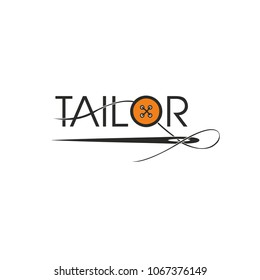 Tailor. Template for logo