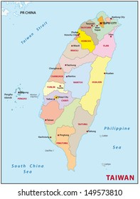 Taiwan administrative divisions