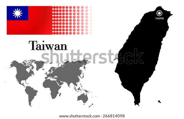 Taiwan Info Graphic Flag Location World Stock Vector (Royalty Free on taiwan map world war ii, taiwanon world map, taiwan native language, globe flat labeled world map, sea of japan map, vientiane world map, a turkey on world map, formosa on world map, taipei world map, taiwan philippines map, taiwan on a map of asia, formosa on an asian map, tokyo on world map, taiwan territories, rangoon world map, taiwan on the map, taiwan capital map, taiwan physical features map, indonesia on world map, venezuela location world map,