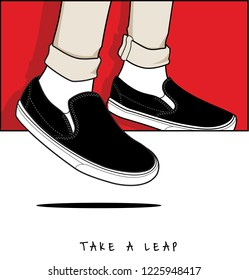 Take a Leap of Courage for Millennial with Famous Shoes