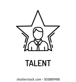 Talent Line Icon
