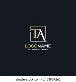 TA-LETTER LOGO/IDENTITY DESIGN FOR USE ALL PURPOSE