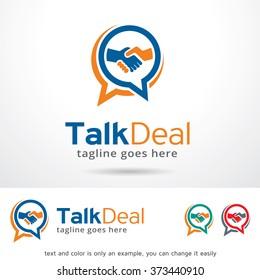 Talk Deal Logo Design Template
