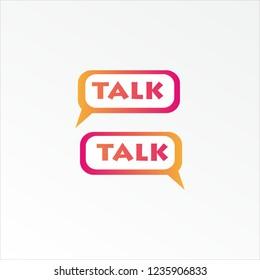 Talk logo, Talk Vector Logotype, Talk  Symbol