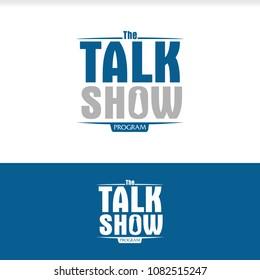 Talk TV Show Program Logo