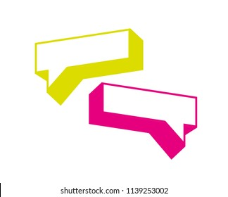 Talk vector sing - logotype