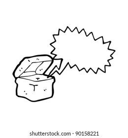 talking box cartoon,