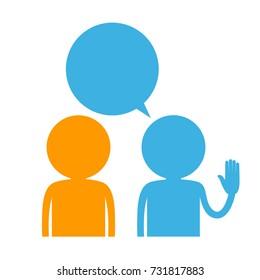 talking symbol
