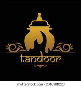 Tandoor Logo Design, Food Fire Tandoor.
