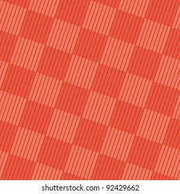 Tangerine Tango checked background (editable seamless pattern)