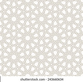 Фотообои Tangled modern pattern, based on traditional oriental patterns. Seamless vector background. Two colors - easy to recolor.