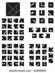 Tangram Square Collection