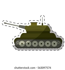 tank army related  icons image vector illustration design